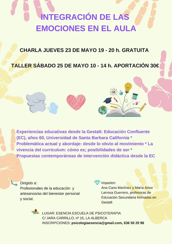 integracion de las emociones en el aula 23 de mayo