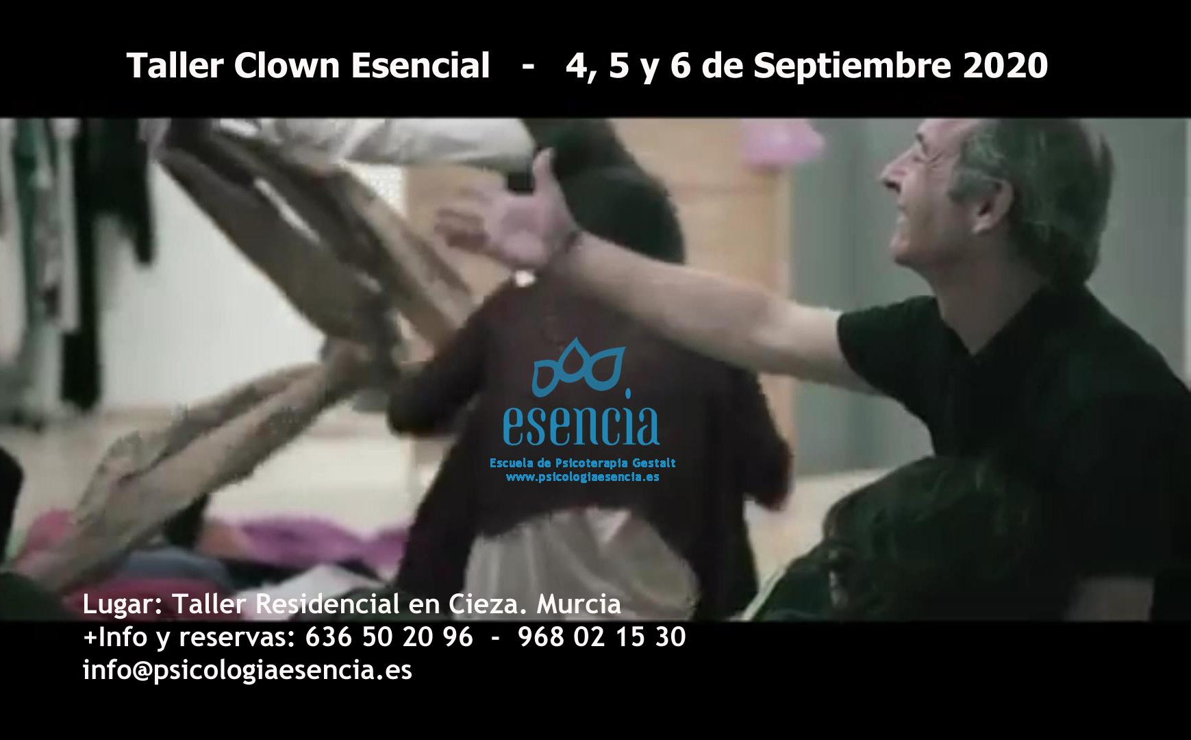 Taller Clown Esencial - Alain Vigneau - 11, 12 y 13 de septiembre